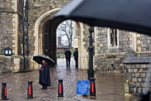 Rainy Day in Windsor