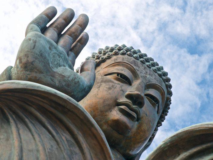 Hong Kong, Tian Tan Buddha Statue on Lantau Island